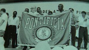 25 de enero de 1991, fecha que quedó impresa con tinta de oro para la historia. No es para menos, Puerto Rico vivió la alegría de contar con la única universidad Pontificia en la Isla.