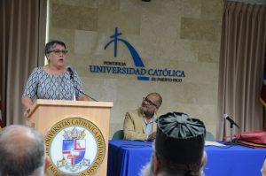 La fiscal Marta Maldonado, relató historias que atiende a diario en los Tribunales.