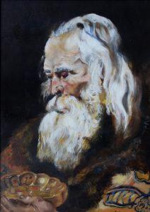 La obra de la artista, estudiante de la PUCPR, Vitaly López.