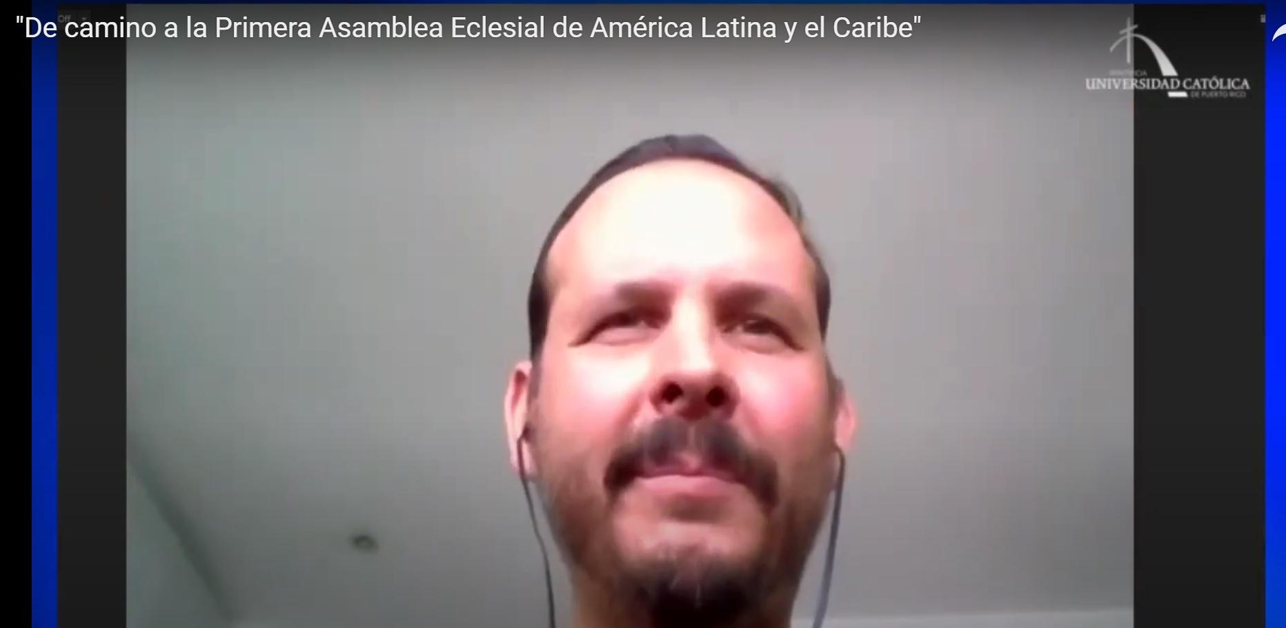 Mauricio López habló sobre la Primera Asamblea Eclesial de América Latina y el Caribe.